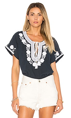 Lani Embroidered Top