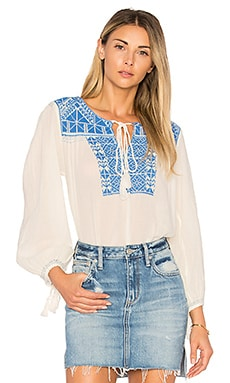Vero Embroidered Top