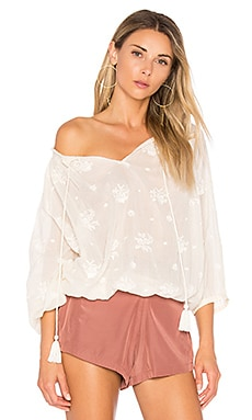 Meili Embroidered Top