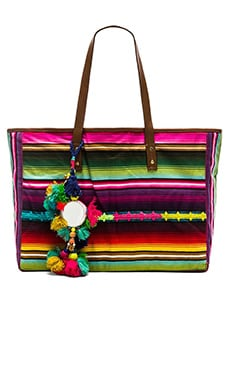 Star Mela Pepita Stripe Bag in Multi