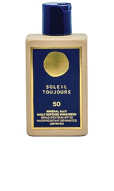 MINERAL ALLY 바디 선스크림 Soleil Toujours $56