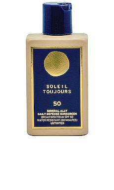 Travel Mineral Ally Daily Defense SPF 50 Soleil Toujours $38 NEW