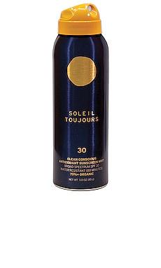 Travel Clean Conscious Antioxidant Sunscreen Mist SPF 30 Soleil Toujours $22