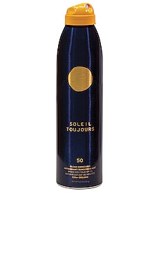 Clean Conscious Antioxidant Sunscreen Mist SPF 50 Soleil Toujours $36