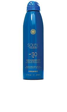 Mineral Based Sunscreen Continuous Mist SPF 30