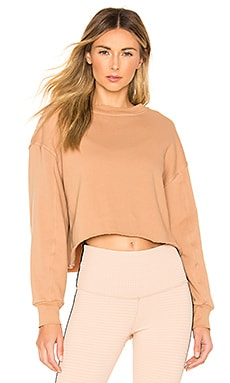x Sivan Ayla Jetset Sweatshirt STRUT-THIS $88 BEST SELLER
