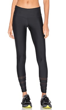 The Stella Ankle Legging in Black