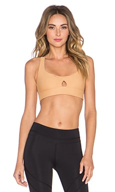 Stone Fox Sweat Portia Sports Bra in Bare