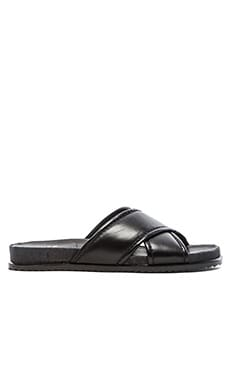 Stuart Weitzman Spa Sandal in Black