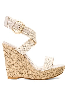 Stuart Weitzman Alex Wedge in Ivory