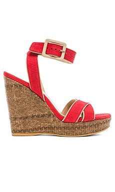 Stuart Weitzman Annex Wedge in Reed