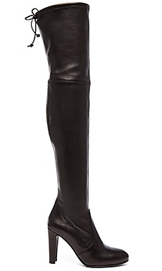 Highland Boot in Nero