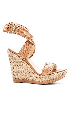 Stuart Weitzman Elixir Wedge in Adobe
