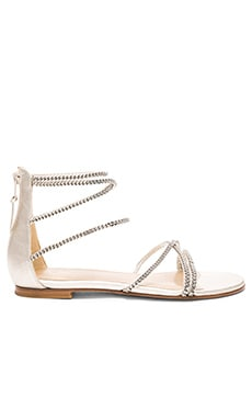 Chaindown Sandal in Pearl