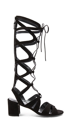 Grecian Sandal in Black