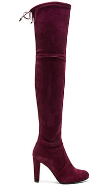 Highland Boot in Bordeaux