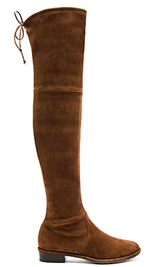 Stuart Weitzman Lowland Boot in Walnut