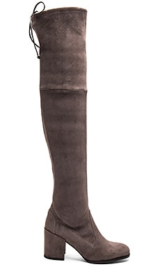 Tieland Boot Suede in Slate