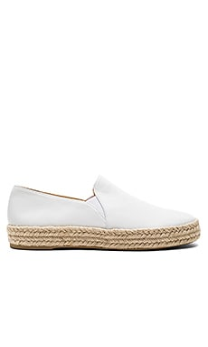 Nugal Espadrille in White Nappa