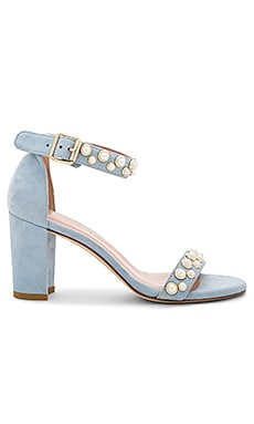 Pearlynude Heel in Azure