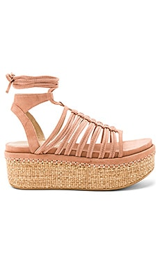 Knotagain Sandal in Naked Suede