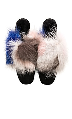 Furgetit Fox Fur Slide