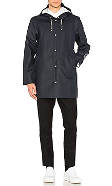 Stutterheim Stockholm Jacket in Navy & Black