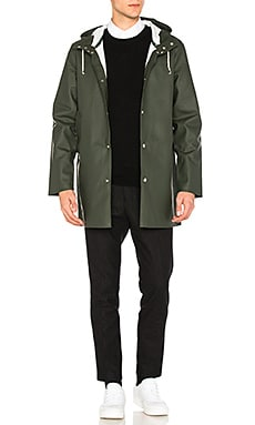 Stutterheim Stockholm Jacket in Forest Green