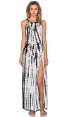 Stillwater The Gauze Gypsy Dress in Black & White