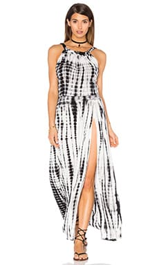 Stillwater Gypsy Dress in Black & White