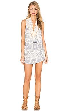 Luven U Road Trippin Dress in Lilac Grey