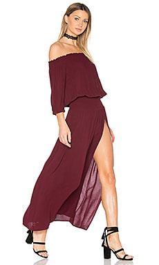 Bandida Dress in Garnet