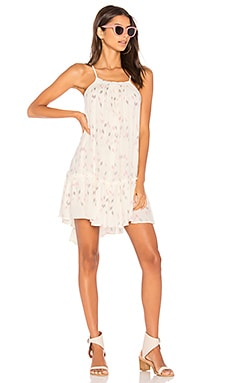 Sun Beam Ruffle Dress