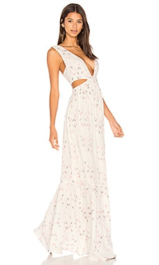 Sunset Cut Out Maxi