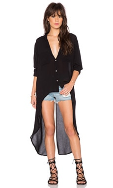 Stillwater The Maxi Shirt in Black