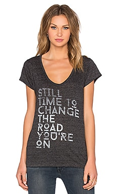 Stillwater Still Time To Change Tee in Charcoal