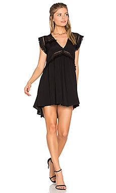 XO Mini Dress in Black
