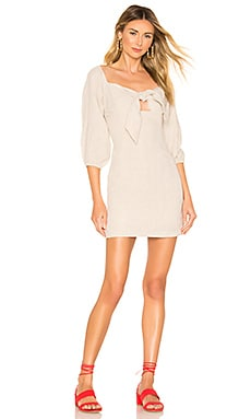 Wanderer Tie Front Mini Dress Suboo $68