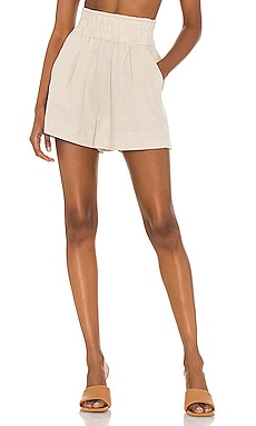 Cecile Linen Shorts Suboo $150