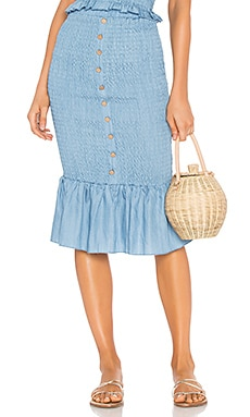 Last Night Shirred Skirt Suboo $86