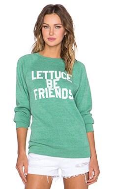 Sub_Urban RIOT Unisex Lettuce Sweatshirt in Mint