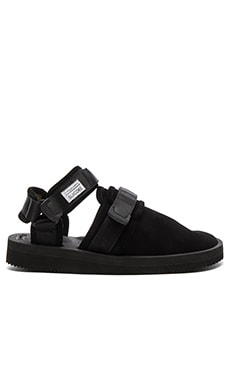 Suicoke NOTS-VS Sandal in Black