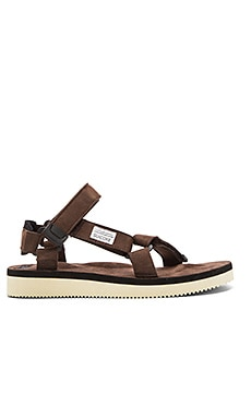 Suicoke DEPA-ecs Sandal in Brown