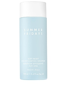 Soft Reset AHA Exfoliating Solution Summer Fridays $54