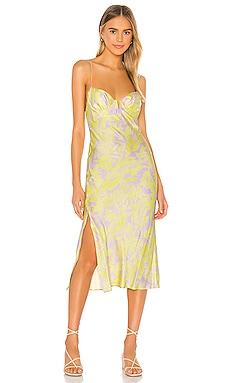 Wildflower Midi Dress Sun Becomes Her $198