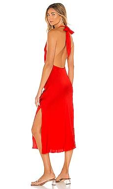 Waterfall Midi Dress Sun Becomes Her $176
