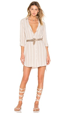 SUNCOO Candice Tunic Dress in Beige