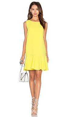 Cameron Mini Dress in Jaune