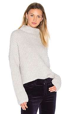 Poppy Sweater in Heather Grey