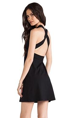 Susana Monaco Nadya Cross Back Dress in Black